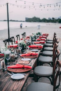 Dinner am Strand @ Strandbad Wendenschloss