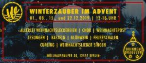 Winterzauber im Advent - Adventssonntage @ Strandbad Wendenschloss
